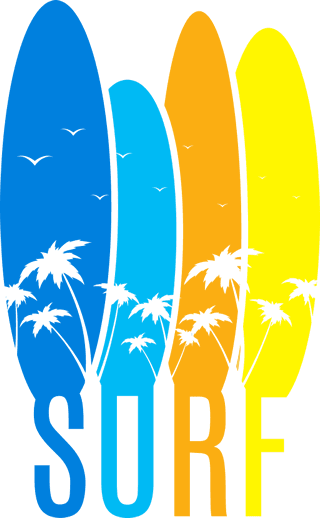 Pacific Surf School San Diego | Lessons | Surfboard Icons