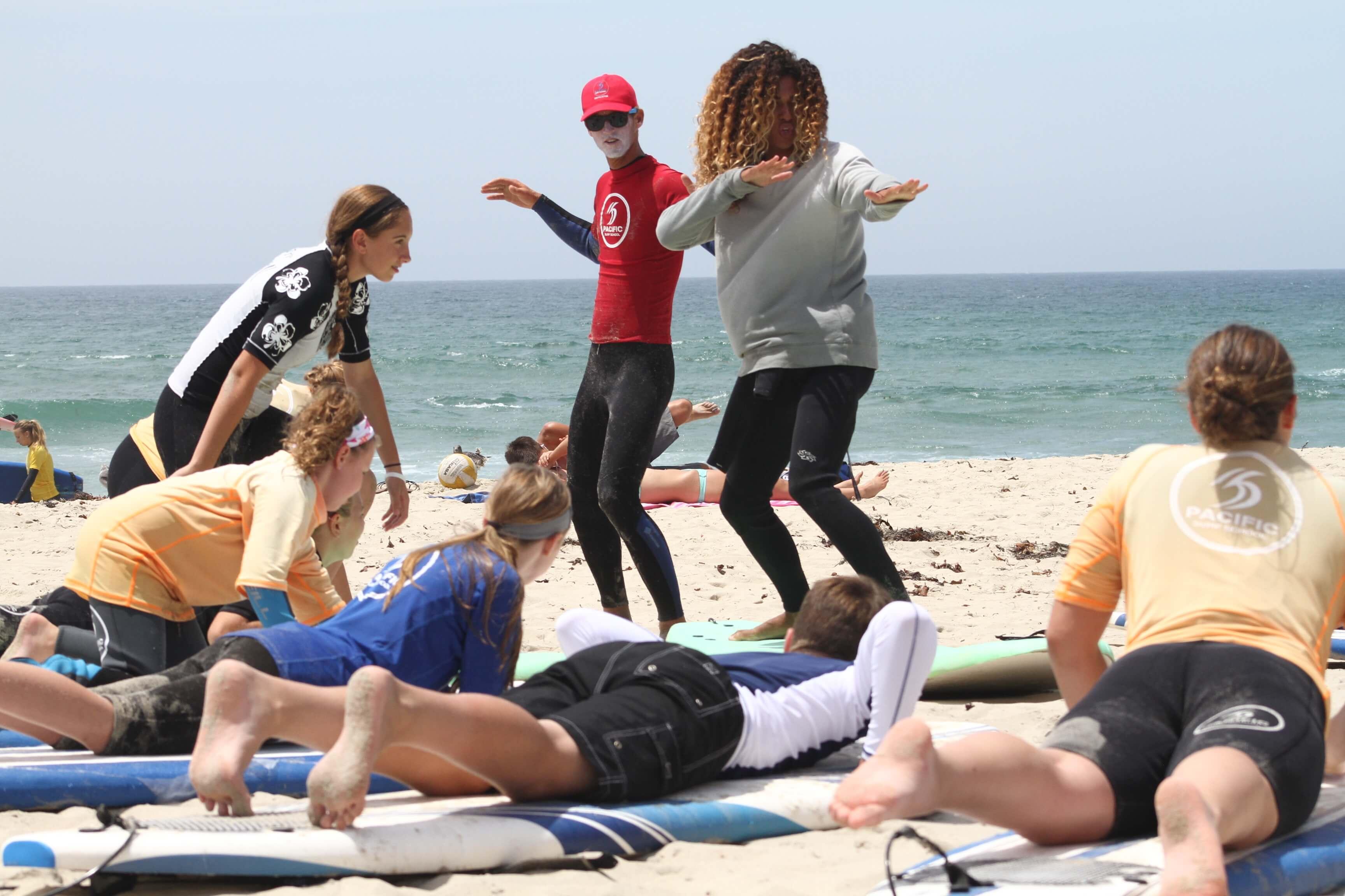 Spring Break Surf Camp