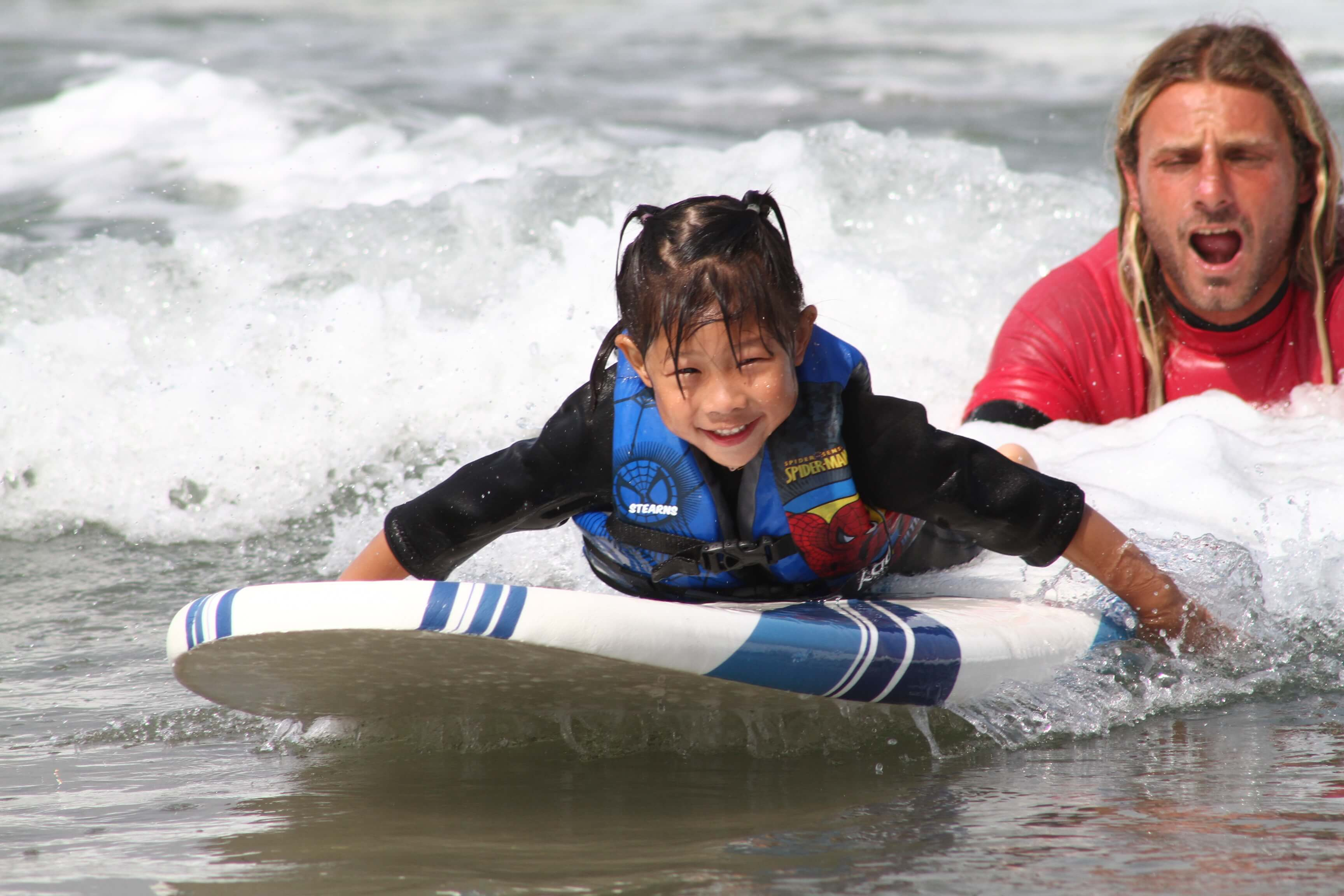 NOW YOUR FAMILY CAN LEARN TO SURF!