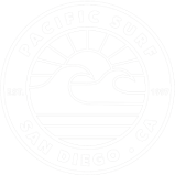 Logo Pacific Surf School - San Diego